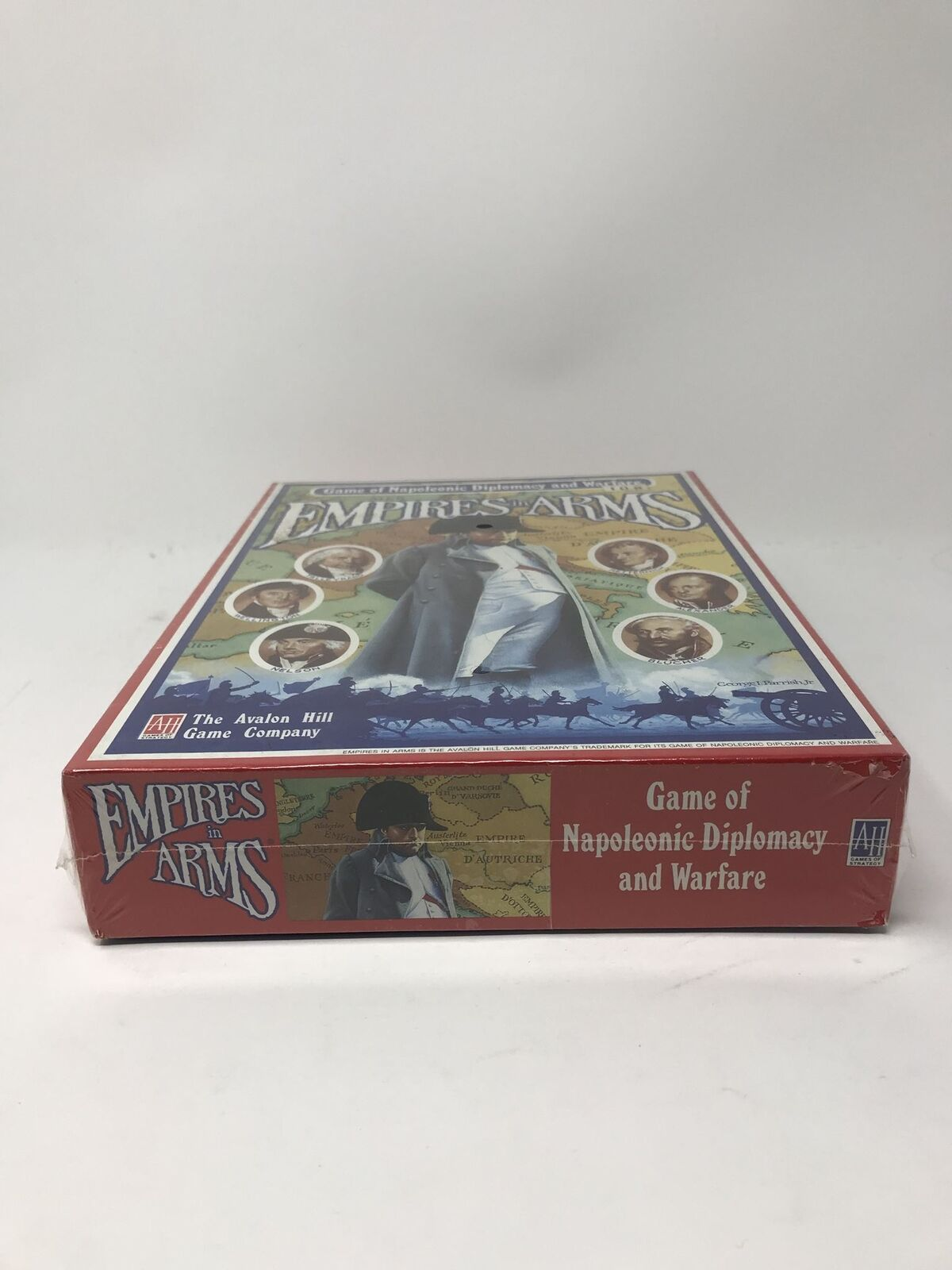 Brand New Sealed Sealed Sealed Empires in Arms Avalon Hill Unpunched Unplayed Unopened 2b3b67