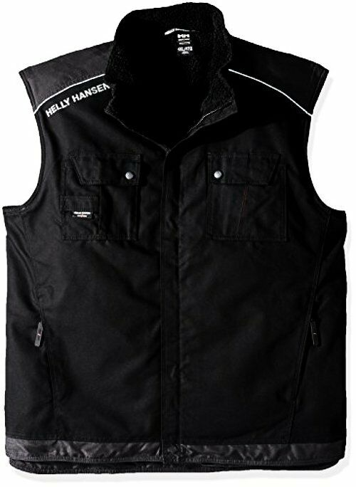 Helly Hansen Work Wear Mens Big and Tall Chelsea Lined Vest- Select SZ color.