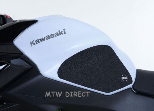 R/&G CLEAR TANK TRACTION GRIP PADS for Kawasaki Ninja 650 2017