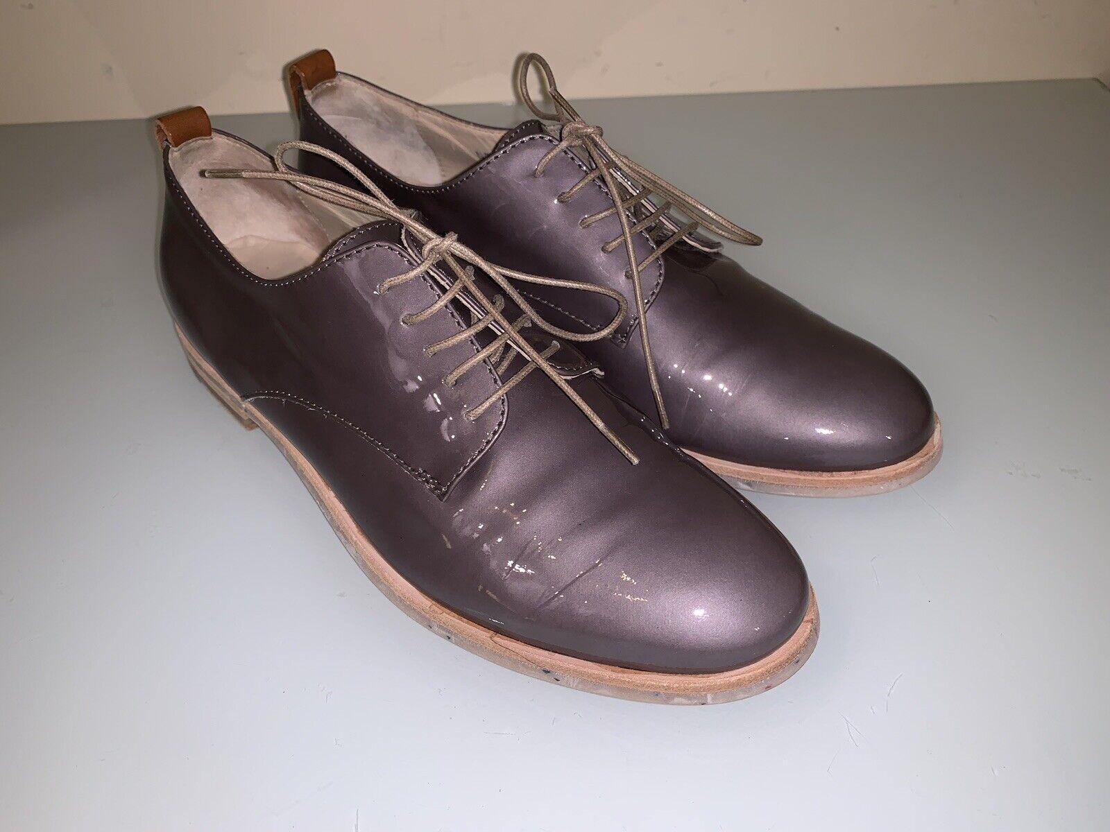 AGL Attilio Giusti Leombcorrerei sautope Sz 36.5(US 6) Wouomo Oxford Leather Lace Up