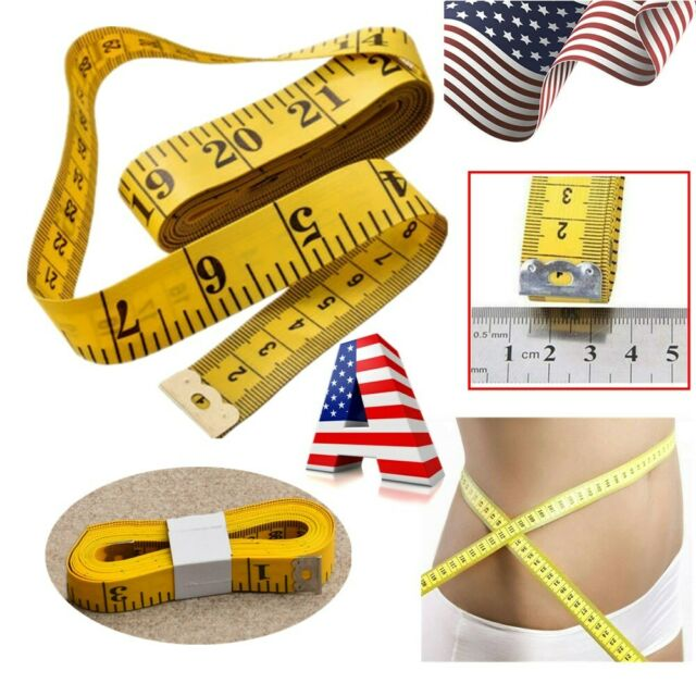 150cm Fitness Body Tape Measure Sewing Body Fat Caliper Measuring Weight Loss