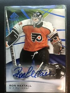 Ron-Hextall-19-20-SP-GU-Blue-Rainbow-Parallel-Auto