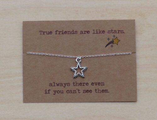Gift for best friend Unusual Birthday gift Fun present /& message card Necklace