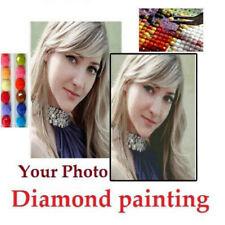 30-100CM Photo Custom 5D Diamond Painting Full Drill DIY Embroidery Cross Stitch