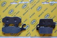 Front Rear Brake Pads Fits Honda Nsr Ns-1 50 80, 93-99 Nsr50 Nsr80 Ns1
