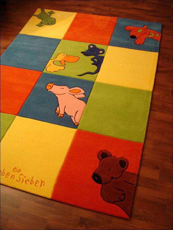 Die Lieben Sieben Teppich 2197-01 80x150  NEU