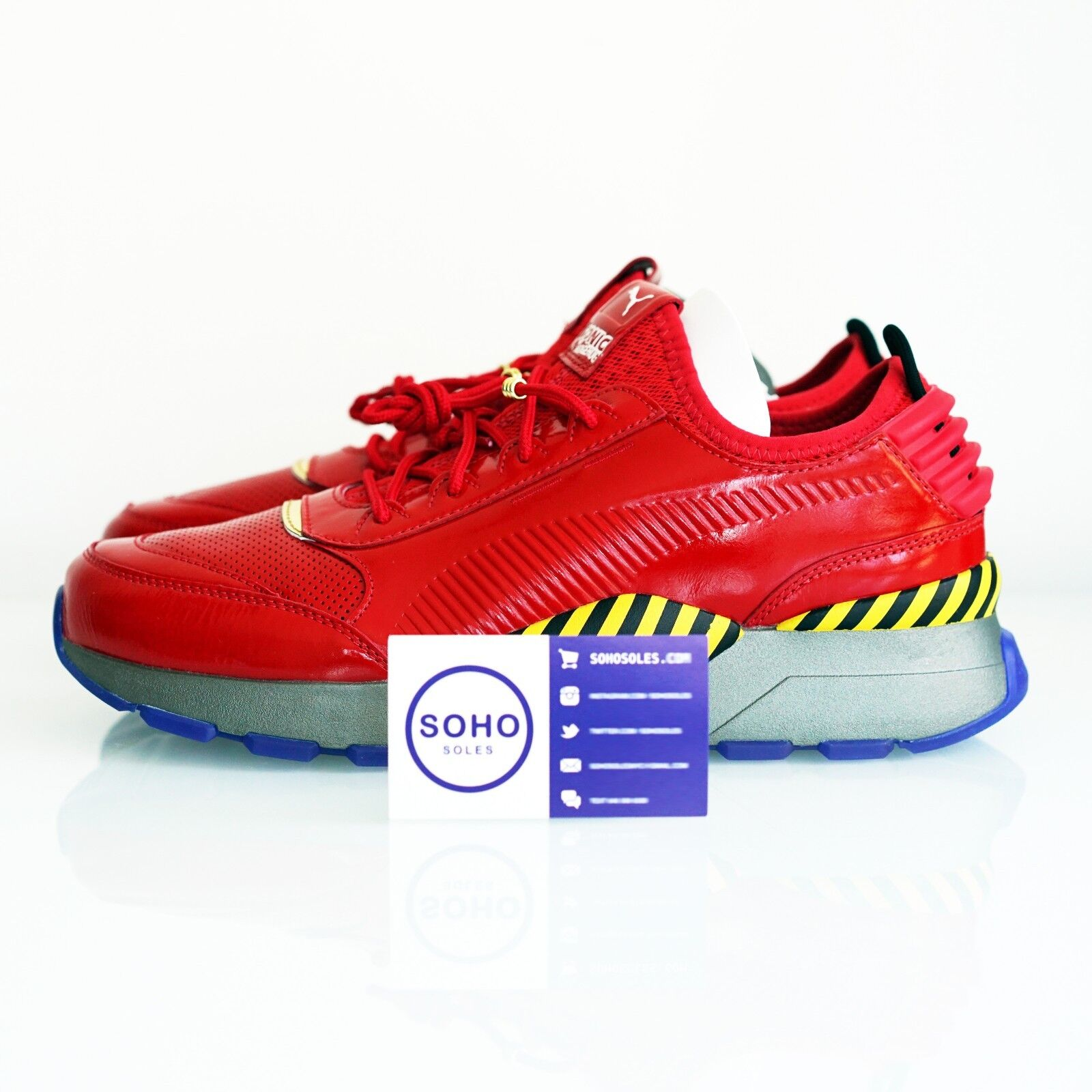 Puma RS-0 SEGA Dr. Eggman Red Yellow Black Sonic 368350-01 Size 8-13 IN HAND