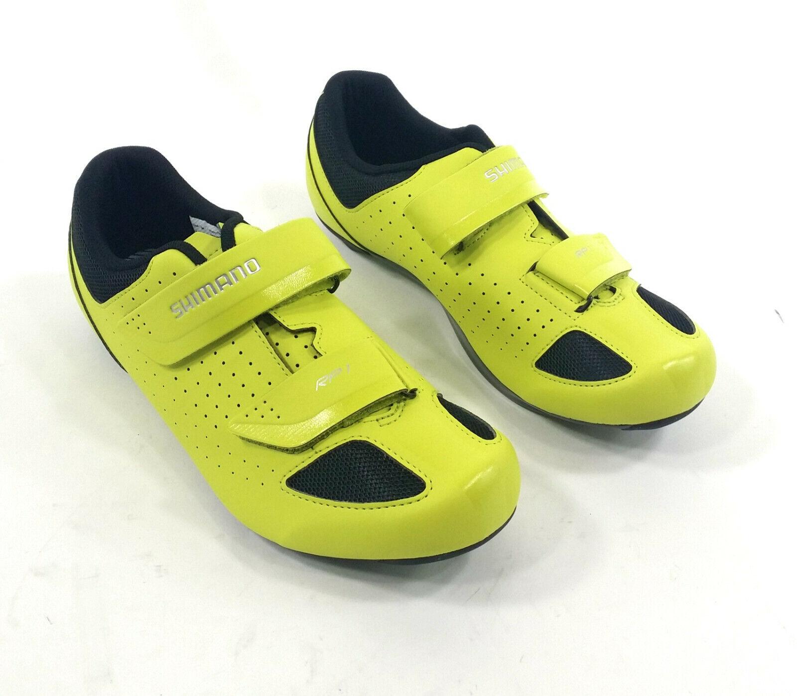 Shimano SH-RP1 Road Bike shoes, Yellow - 42 (US 8.3)