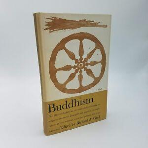 BUDDHISM-Richard-A-Gard-First-Edition-1961-HCDJ-Religion-Philosophy