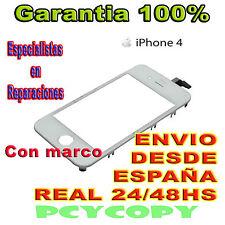 PANTALLA TACTIL PARA IPHONE 4 4G MARCO DIGITALIZADOR CRISTAL TOUCH SCREEN BLANCO