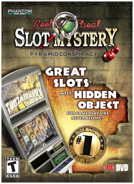 Reel Deal Slot Mystery Pyramid Conspiracy PC Games Window 10 8 7 XP Computer NEW