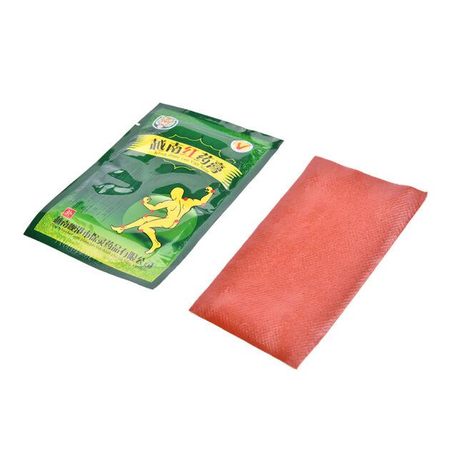 8 Patches Vietnam Red Tiger Balm Muscular Stiff Shoulder Pain Relief Plaster