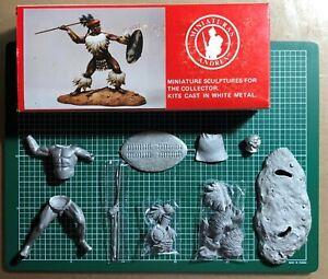 Capable Andrea Miniatures S8-f12 - Zulu Warrior (1879) - 90mm Metal Kit Raro