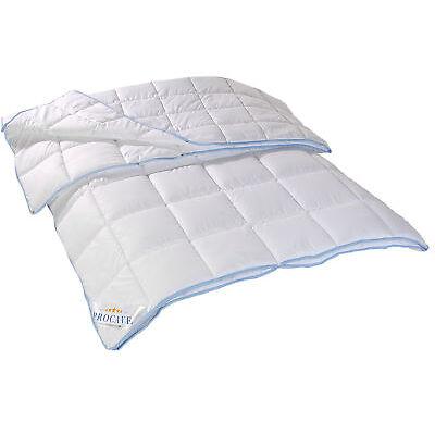 TopCool 4-Jahreszeiten Bettdecke Steppbett Steppdecke Decke Druckknopf PROCAVE