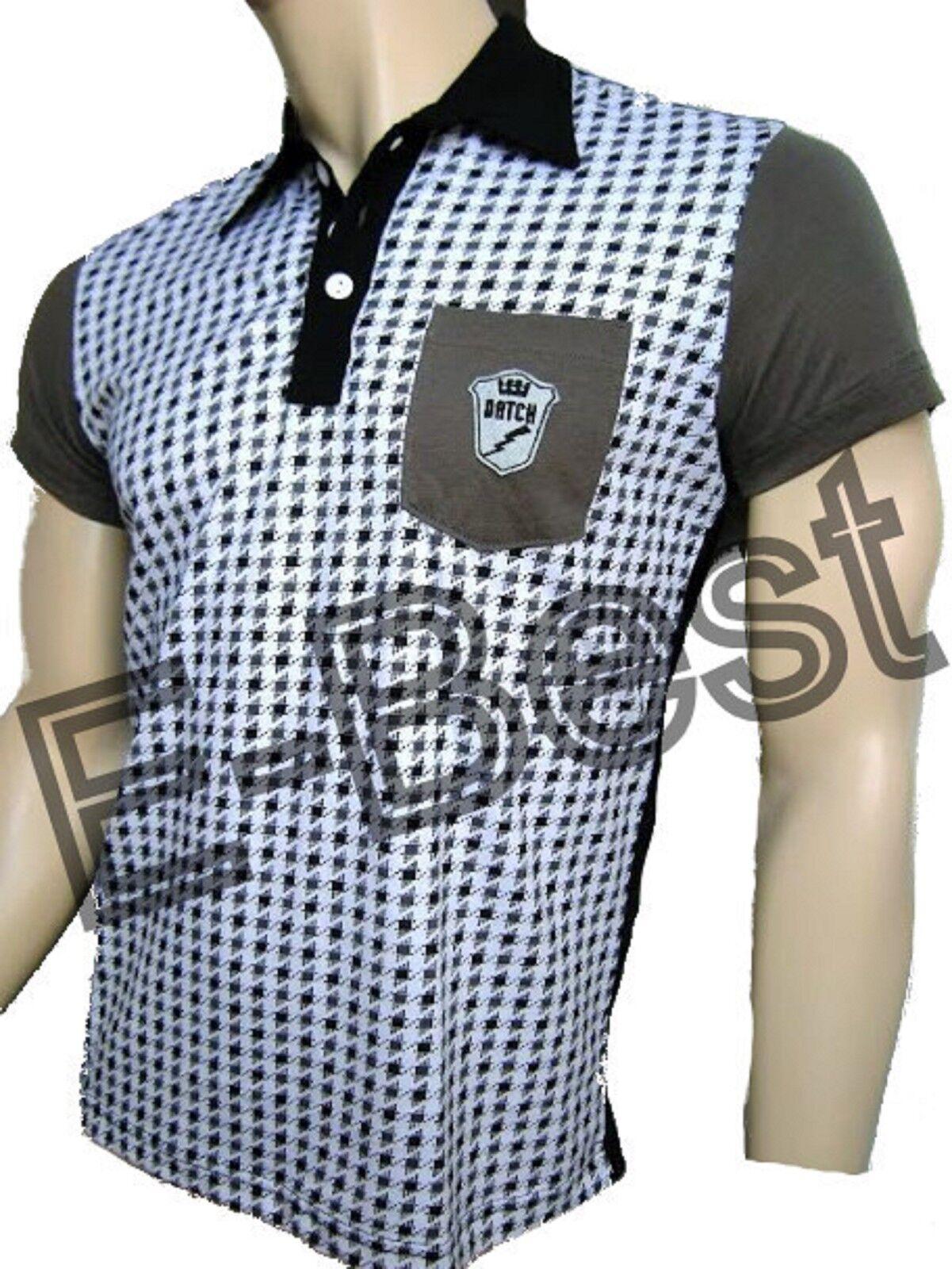 Polo T-Shirt Datch Short Short Short Sleeves Chess Men Man 57K1025 402 176df7