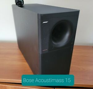 Bose Acoustimass 15 Powered Home Theater Subwoofer Black #2