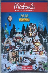 Lemax Christmas Village Michaels.Details About 2018 Lemax Christmas Holiday Village Michael S Brochure Catalog Flyer New