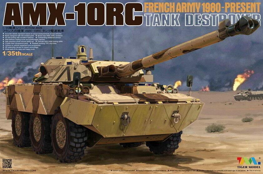 Tiger Model 1 35 French Army AMX-10RC Heavy Tank Destroyer  Gulf War