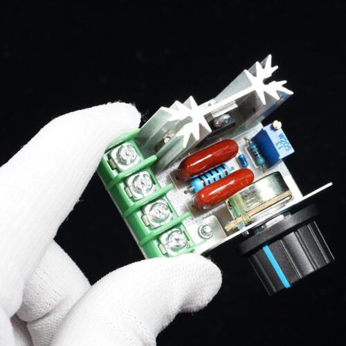 2000W AC 50-220V 25A Adjustable Motor Speed Controller Voltage Regulator PWM PLV