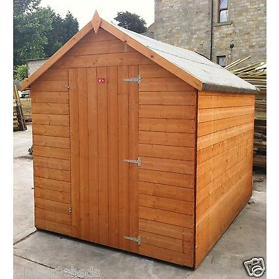 Garden Shed 14mm tongued and grooved throughout super ultra value T&G HUT