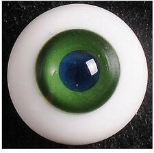Glass Eye 12mm MD BGreen fits mini doll U-noa Lati Yellow Puki 1/8 BJD
