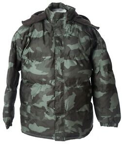 NWT-Men-s-Bubble-Puffer-Jacket-WARM-Camouflage-Winter-Coat-SIZE-M-6X-fleece-line