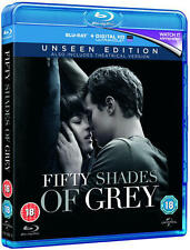 FIFTY SHADES OF GREY - THE UNSEEN EDITION - BLU RAY - NEW / SEALED