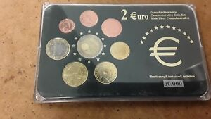 LUXEMBOURG-COMMEMORATIVE-8-Euro-COIN-SET-FREE-UK-P-amp-P