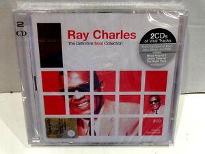 RAY-CHARLES-THE-DEFINITIVE-SOUL-COLLECTION-2-CD-2006-NUOVO-E-SIGILLATO