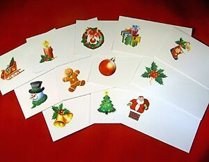 Christmas Festive Place Name Cards Wedding Office for Card ...