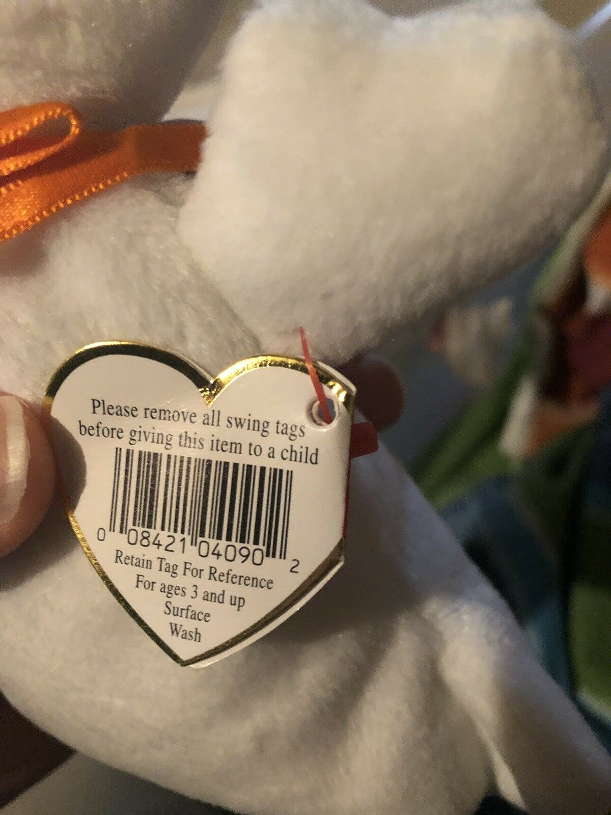 Ultra RARE MINT MINT MINT Spooky  Ty Beanie Baby With Multiple Errors On Tag  008421040902 3ca73b