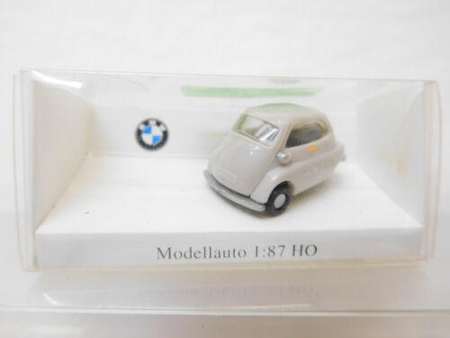 eso-5220 IMU 1:87 BMW Isetta braunweiß mit Mängel