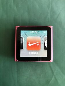 Apple Ipod Nano 6th Generation 8 Gb Pink Ebay