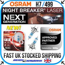 OSRAM Night Breaker LASER NEXT GEN H7 Car Headlight Bulbs 55W +150% Twin Duo