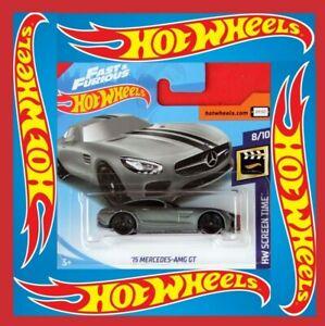 Hot-Wheels-2019-039-15-Mercedes-AMG-GT-107-250-nuevo