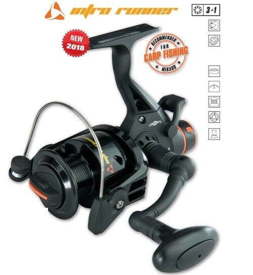 Carp Reel Mikado Intro Runner Fishing Free Running Spool Throwing Role Feeder
