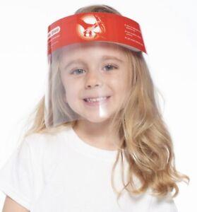 Unisex Face Shield Kids Girls /& Boy Reusable assorted 120 pcs pack