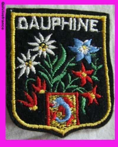 SK585 PATCH SKI DAUPHINE EDELWEISS