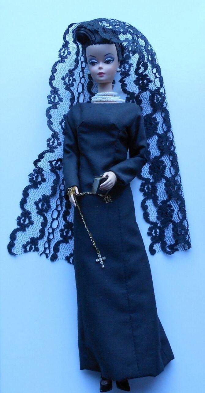 12  OOAK Jackie Kennedy Personalizado Vestida Cali Barbie Muñeca
