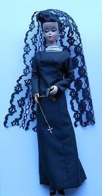 "12"" OOAK JACKIE KENNEDY CUSTOMIZED DRESSED SILKSTONE BARBIE DOLL"
