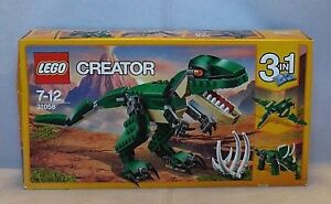 Lego Creator 3 In 1 Mighty Dinosaurs 31058 Ages 7 12 Sealed Set