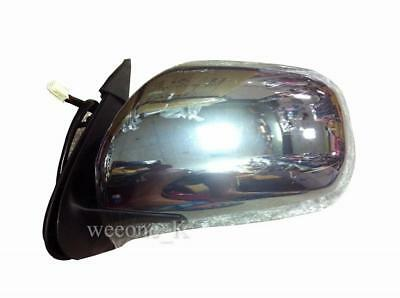 CHROME POWER MIRROR LEFT SIDE FOR TOYOTA HIACE COMMUTER 2005-2015