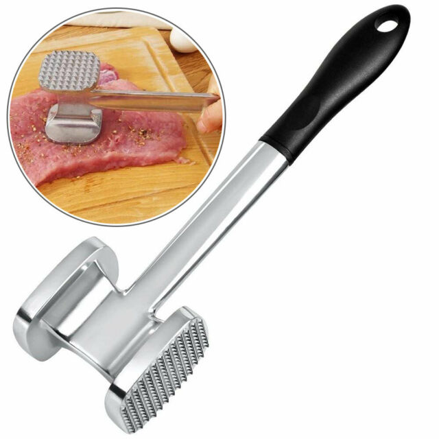 Meat Tenderizer Hammer Beef Steak Chicken Mallet Pounder Kitchen Supplies 6A