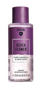 Victoria-Secret-Body-Mist-BEACH-FLOWER-BRAND-NEW-8-4-oz-Purple-Magnolia