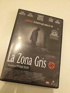 Dvd-LA-ZONA-GRIS-HARVEY-KEITEL-la-historia-que-nunca-se-vio-Auschwitz