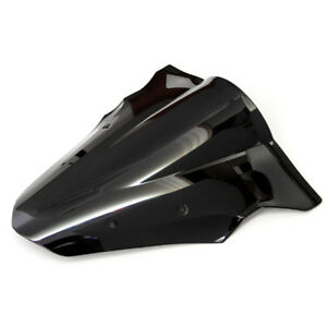New Motorcycle Black ABS Windscreen Windshield Double Bubble for Kawasaki Ninja 650 ER-6F 2012-2016
