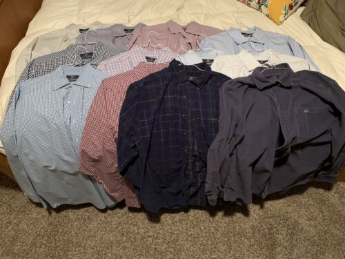Lot of 12 Men's Vineyard Vines Tucker Shirts, XL