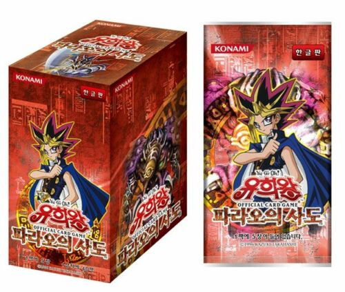 "Yu-Gi-Oh Card /""Pharaoh/'s Servant/"" Booster box // Korean 40Packs"