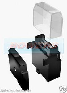 1 way single fuse box holder 12v 24v standard blade clip together image is loading 1 way single fuse box holder 12v 24v