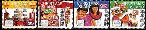 CHRISTMAS ISLAND 1989 Chinese New Year MUH